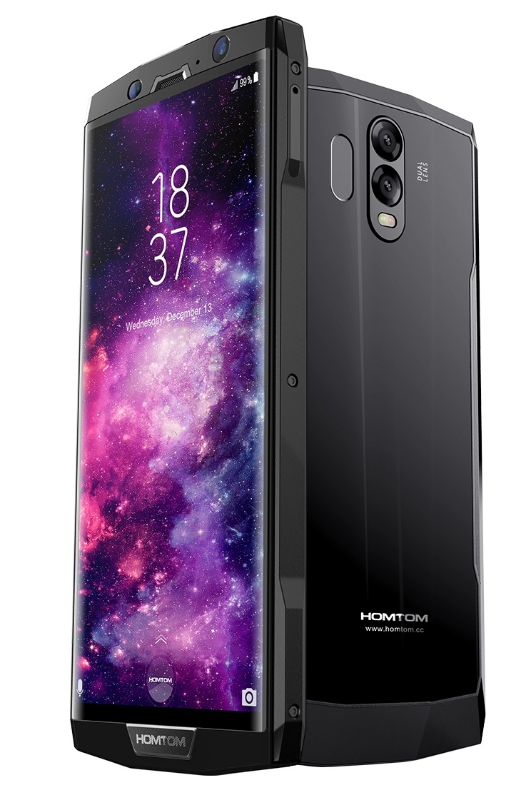 HomTom HT70 — самый тонкий полноэкранный смартфон с аккумулятором емкостью 10 000 мА•ч