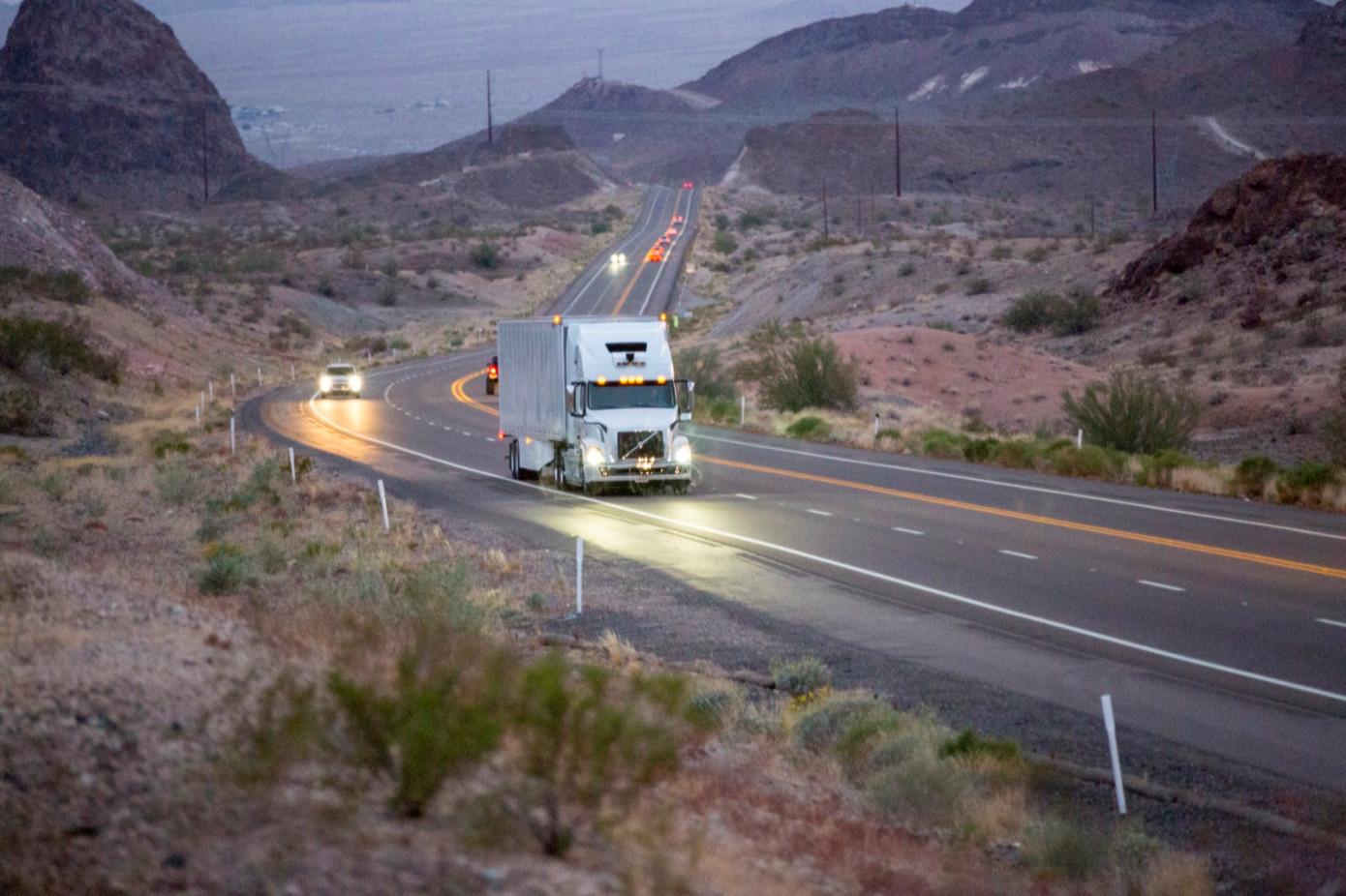 Uber запустил коммерческий сервис беспилотных грузовиков - 1