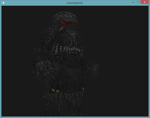 Learn OpenGL. Урок 4.9 — Геометрический шейдер - 11