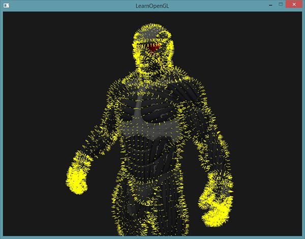 Learn OpenGL. Урок 4.9 — Геометрический шейдер - 12