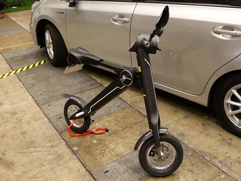Масса Blaze Smart EV — 18 кг