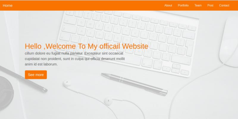 Начинающему веб-мастеру: делаем одностраничник на Bootstrap 4 за полчаса - 6