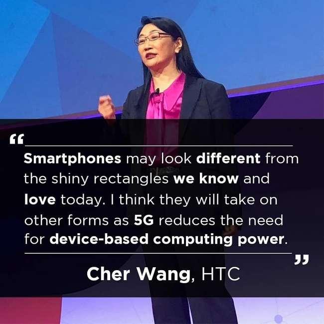 HTC считает, что 5G изменит всю индустрию и форму смартфонов