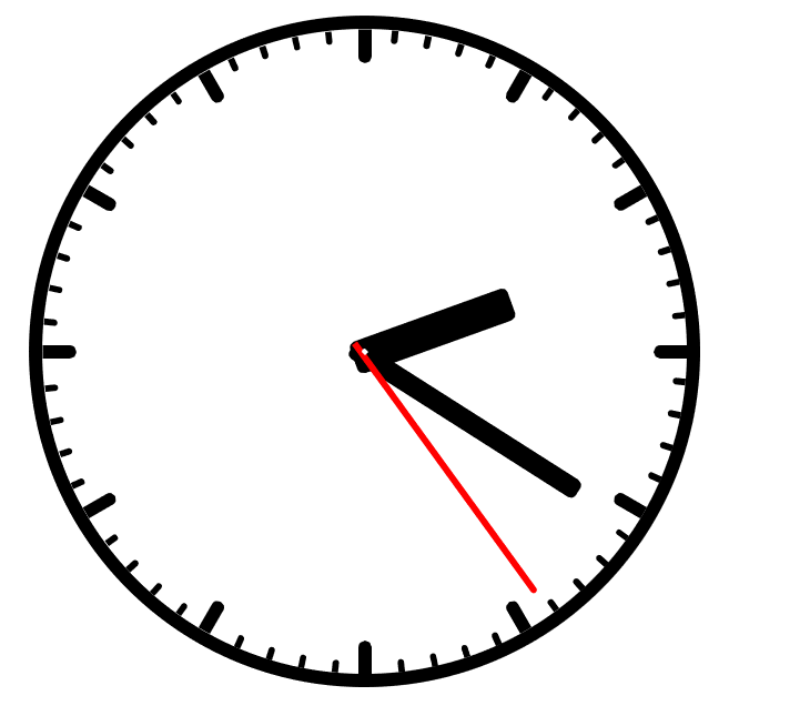 Аналоговые часы, CSS и ничего больше - 5
