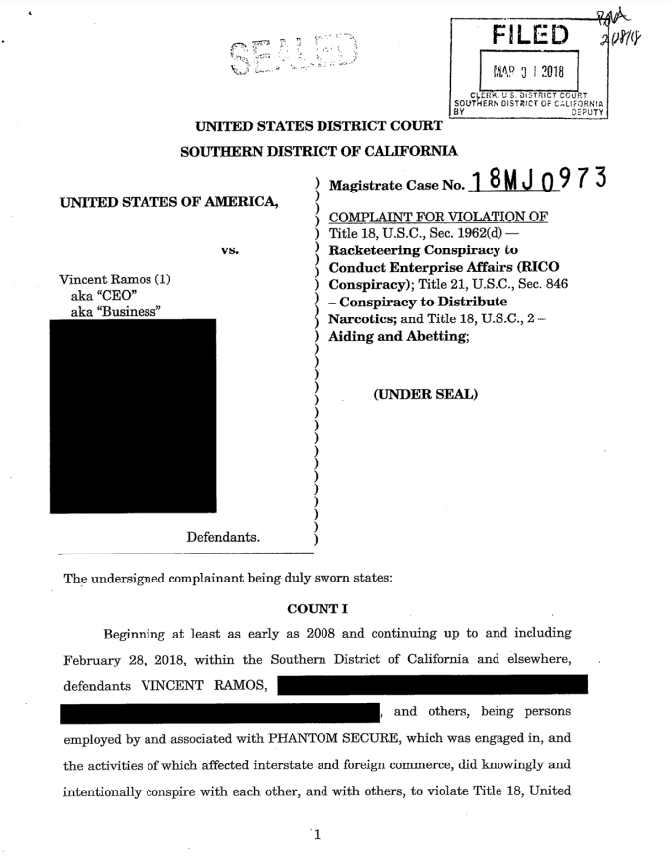 ФБР задержало директора компании по производству защищённых мобильников Phantom Secure - 2