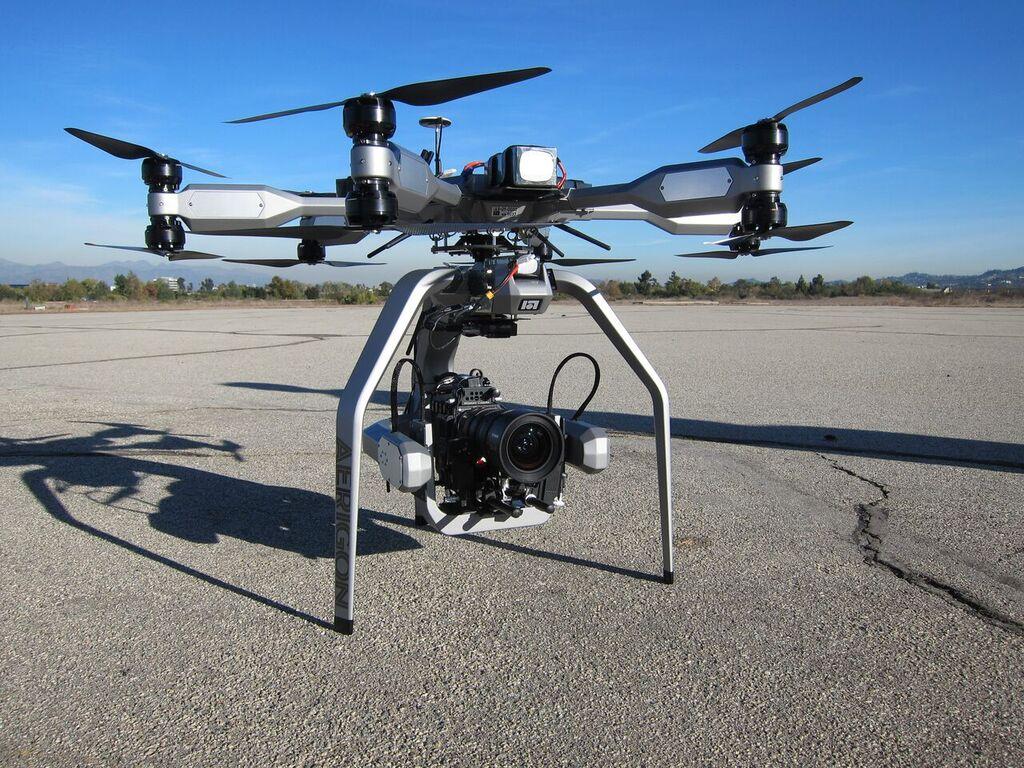 Какие дроны используют в мировом кинематографе - 2