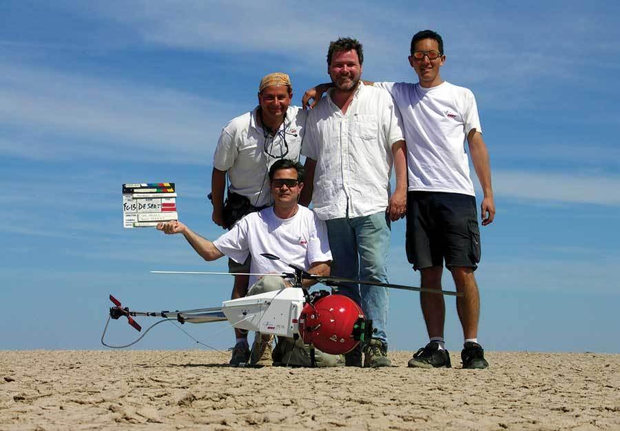 Какие дроны используют в мировом кинематографе - 3