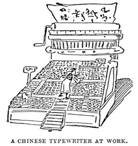 Китайская пишущая машинка — анекдот, инженерный шедевр, символ - 5