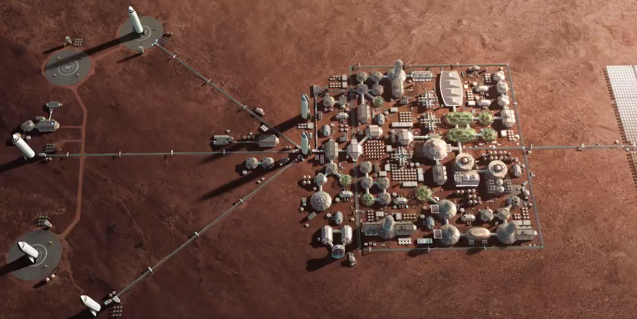 Илон Маск продолжает убеждать в необходимости создания колонии людей на Марсе - 1