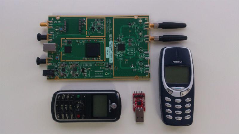 Как собрать GSM телефон на базе SDR - 1