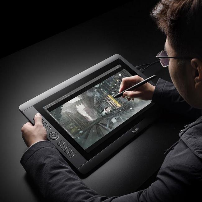 Профессиональный графический планшет Parblo Coast16 с дисплеем диагональю 15,6 дюйма стоит $429