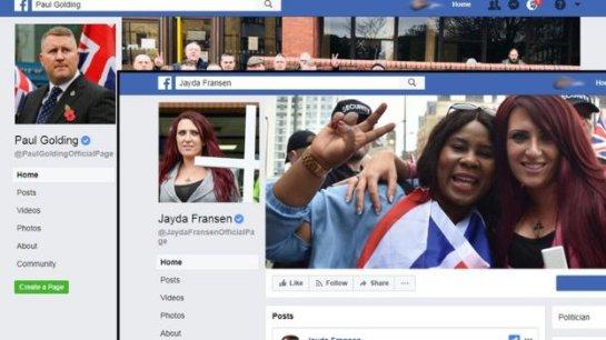 Facebook удалил страницы антиисламской группы British First