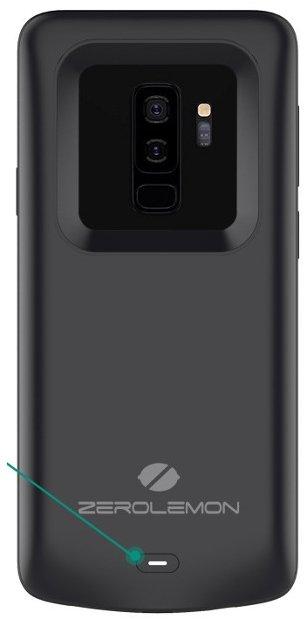 Чехол ZeroLemon для смартфона Samsung Galaxy S9+ располагает аккумулятором ёмкостью 5200 мА·ч - 1