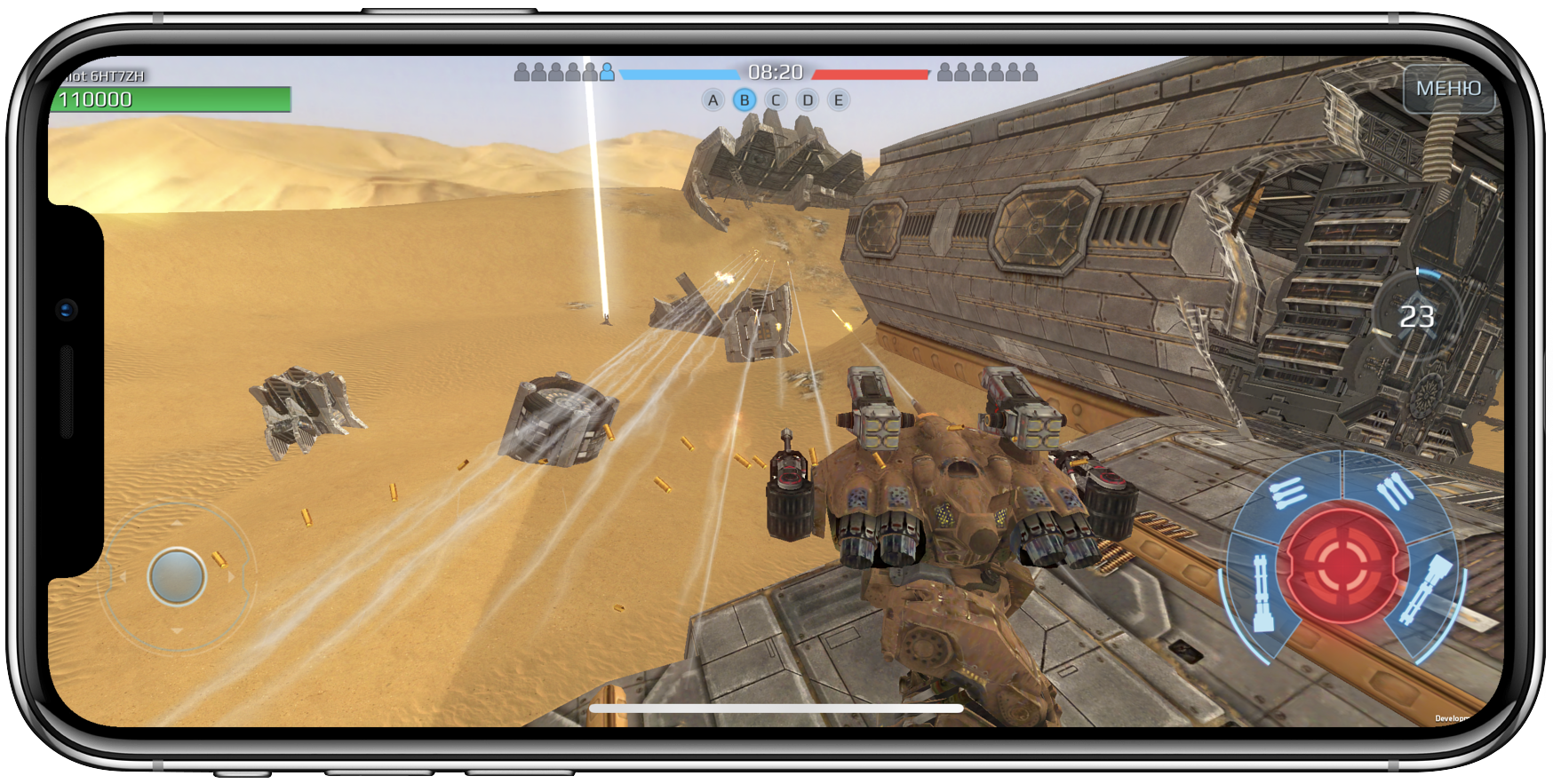 Как адаптировать игру на Unity под iPhone X к апрелю - 8