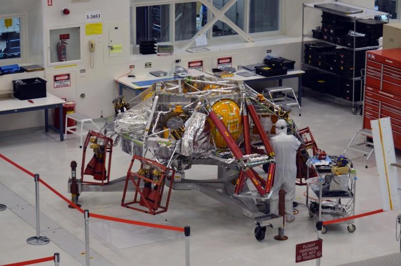 Началась сборка спускаемой ступени «Марс-2020» - 1