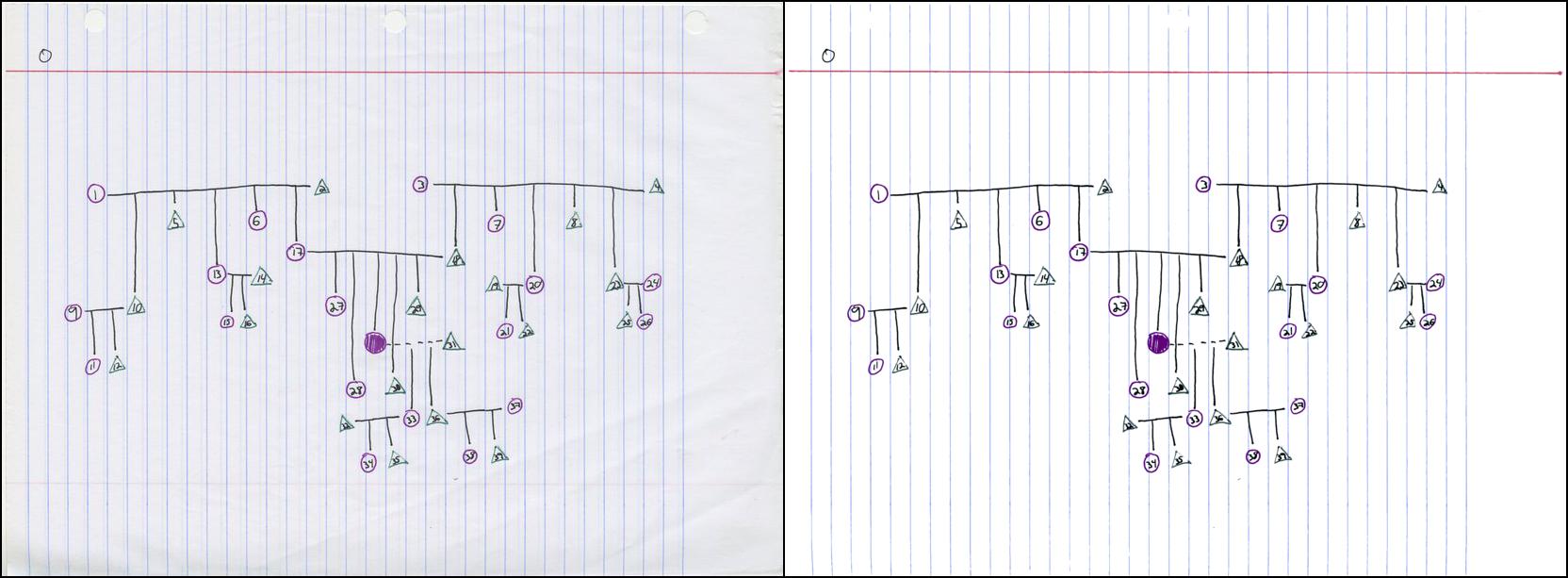 Cжатие и улучшение рукописных конспектов - 15