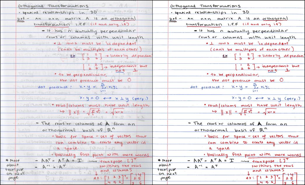 Cжатие и улучшение рукописных конспектов - 1
