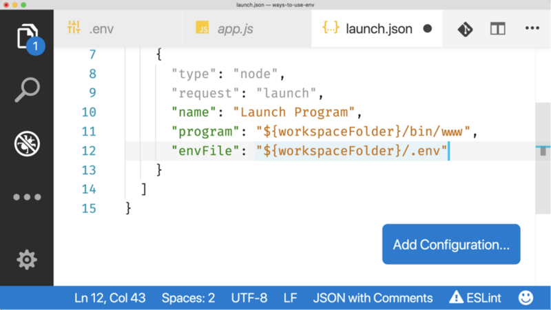 Использование переменных окружения в Node.js - 6