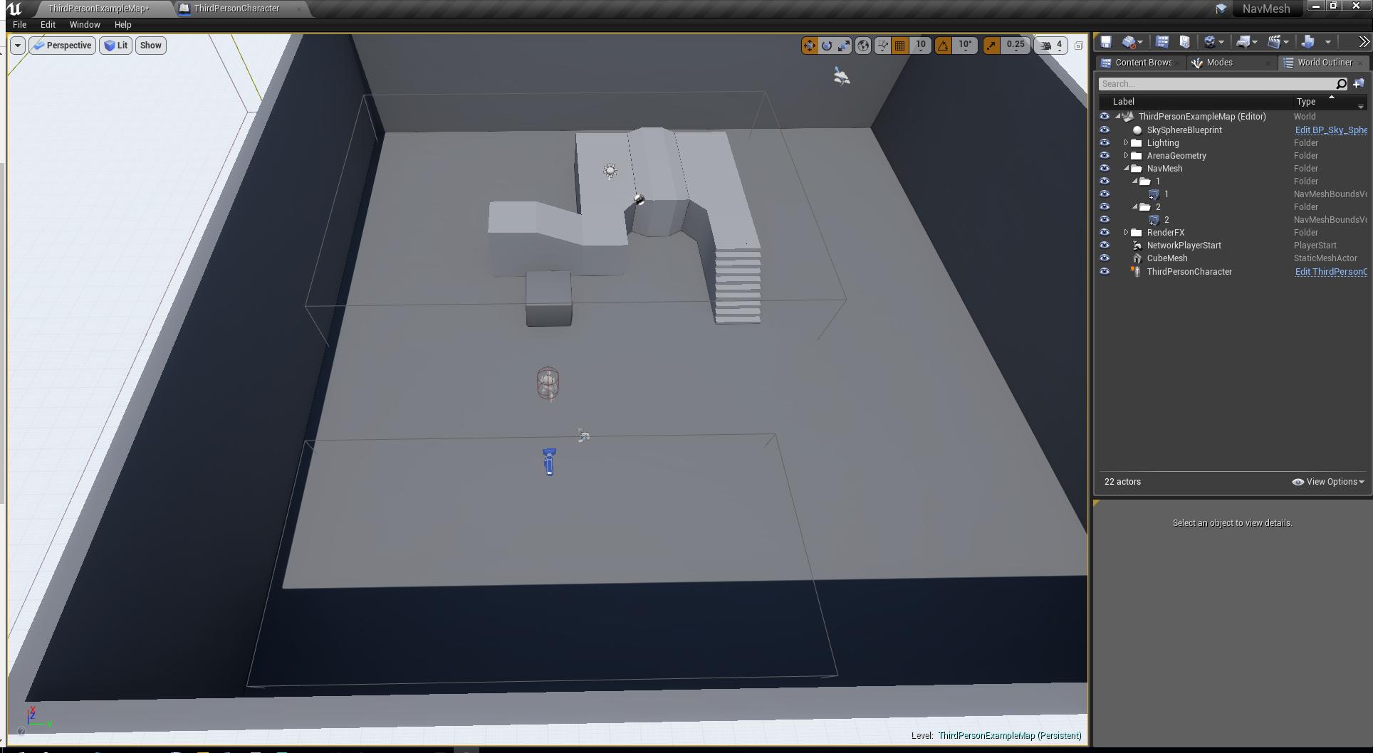 Unreal Engine 4 — как устроенна навигация в NavMeshBoundsVolume - 2