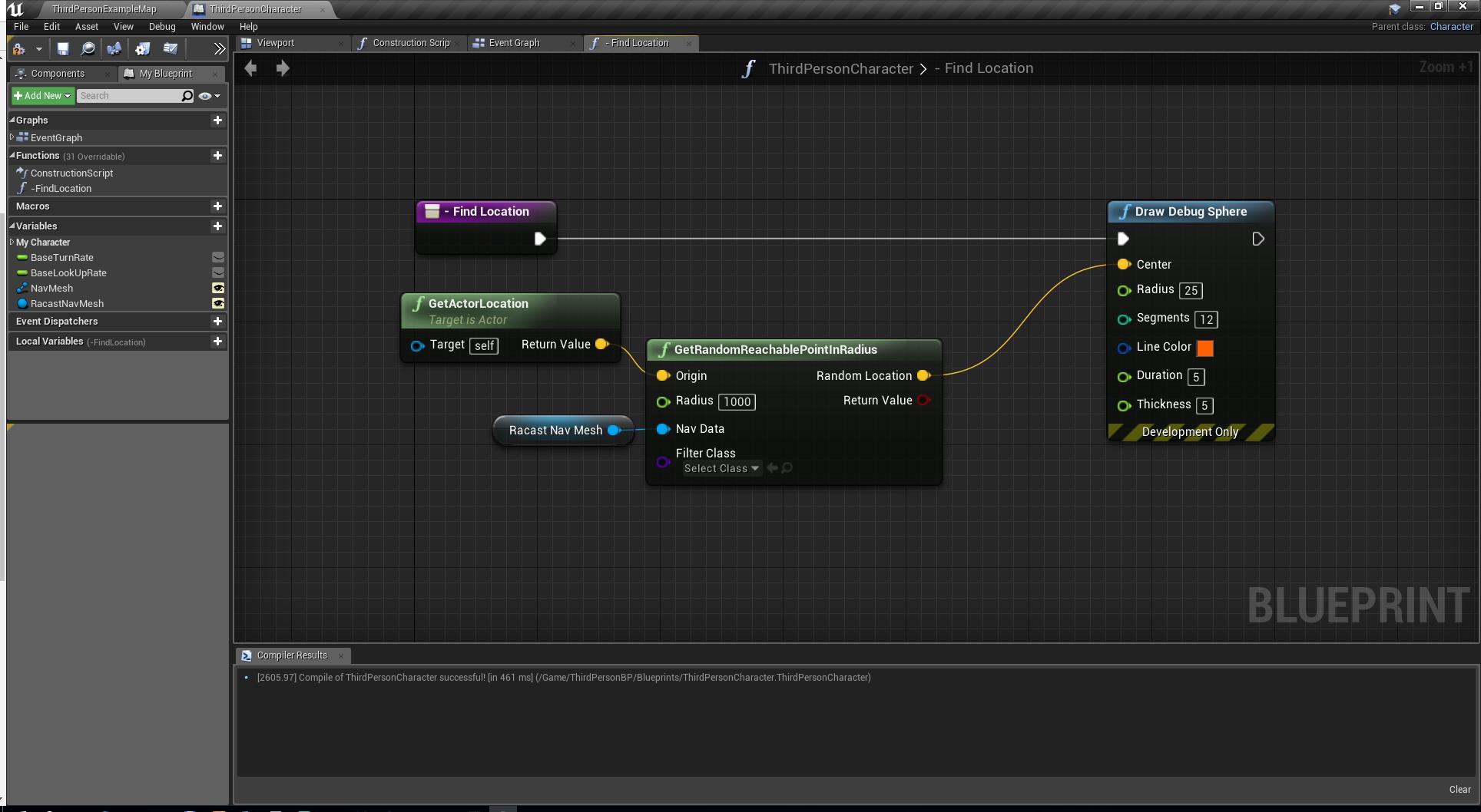 Unreal Engine 4 — как устроенна навигация в NavMeshBoundsVolume - 5