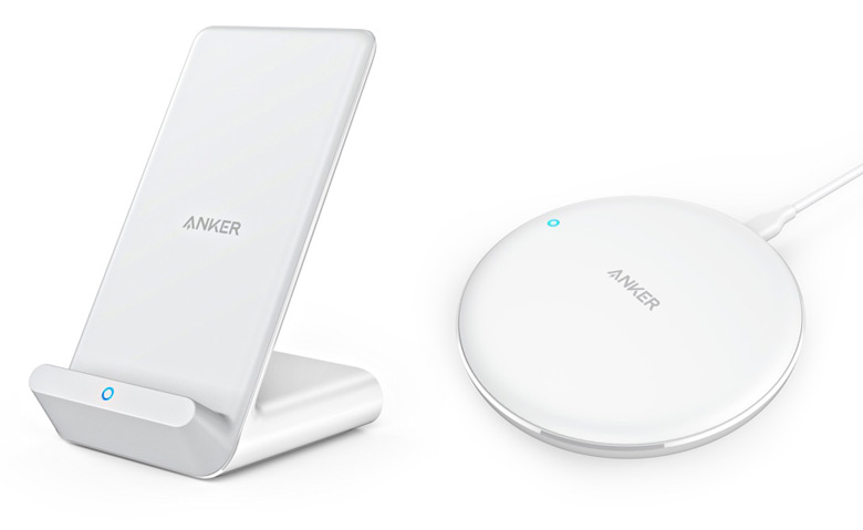 Круглая модель Anker PowerWave 7.5W Pad стоит $45, модель в виде подставки Anker PowerWave 7.5W Stand — $50