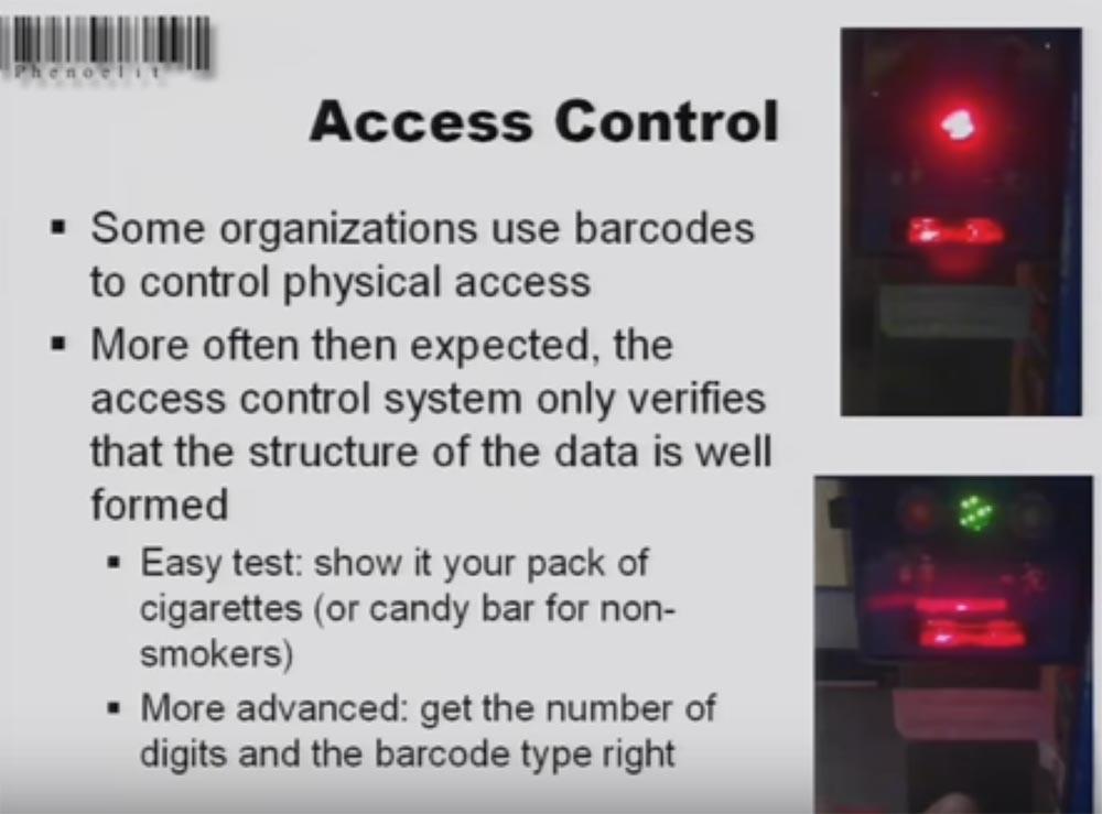 Конференция DEFCON 16. «Игры с баркодами». Феликс Линднер, глава Recurity Labs - 16