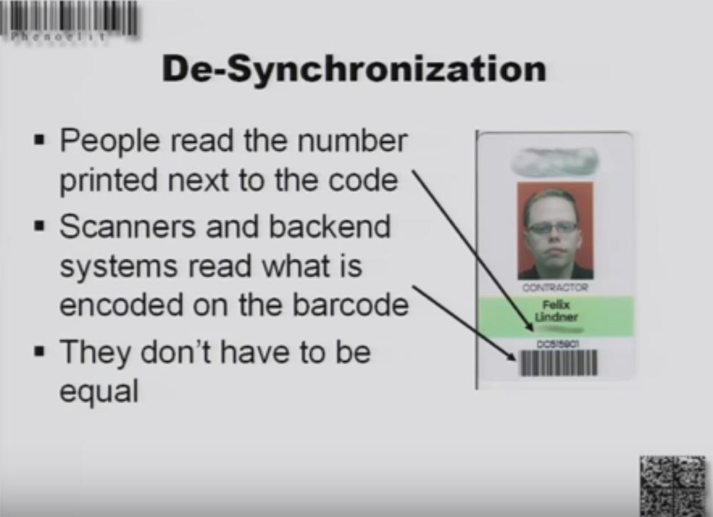 Конференция DEFCON 16. «Игры с баркодами». Феликс Линднер, глава Recurity Labs - 17