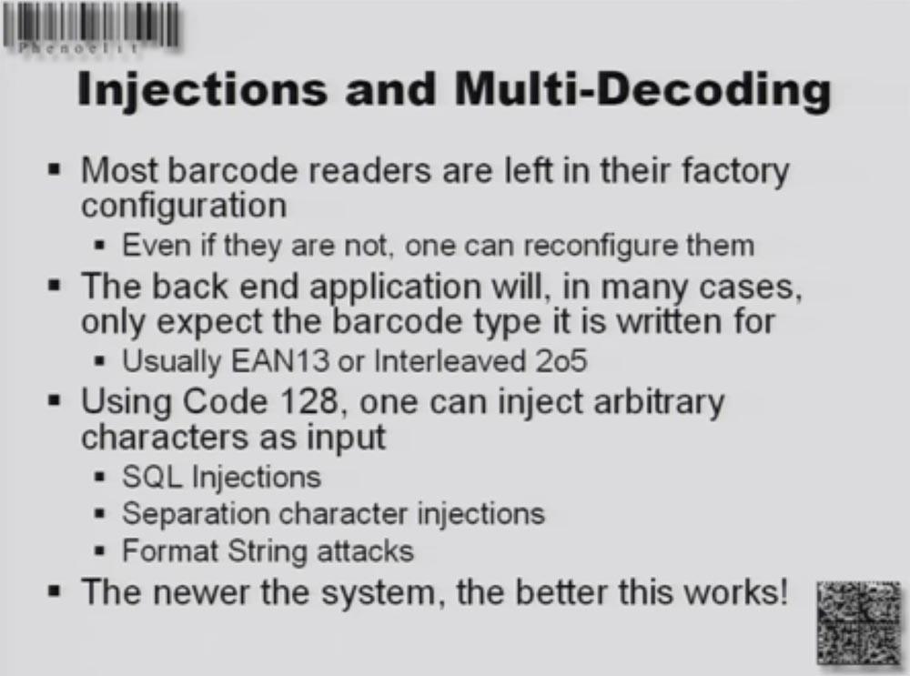 Конференция DEFCON 16. «Игры с баркодами». Феликс Линднер, глава Recurity Labs - 23