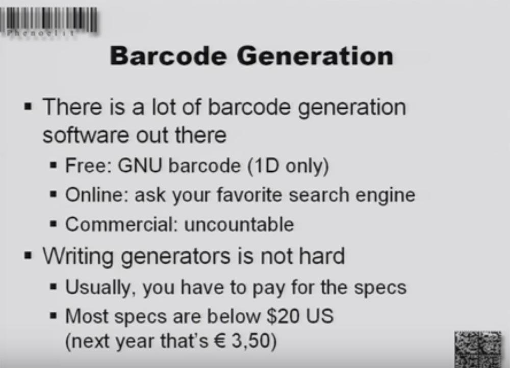 Конференция DEFCON 16. «Игры с баркодами». Феликс Линднер, глава Recurity Labs - 7