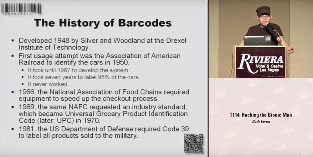 Конференция DEFCON 16. «Игры с баркодами». Феликс Линднер, глава Recurity Labs - 1