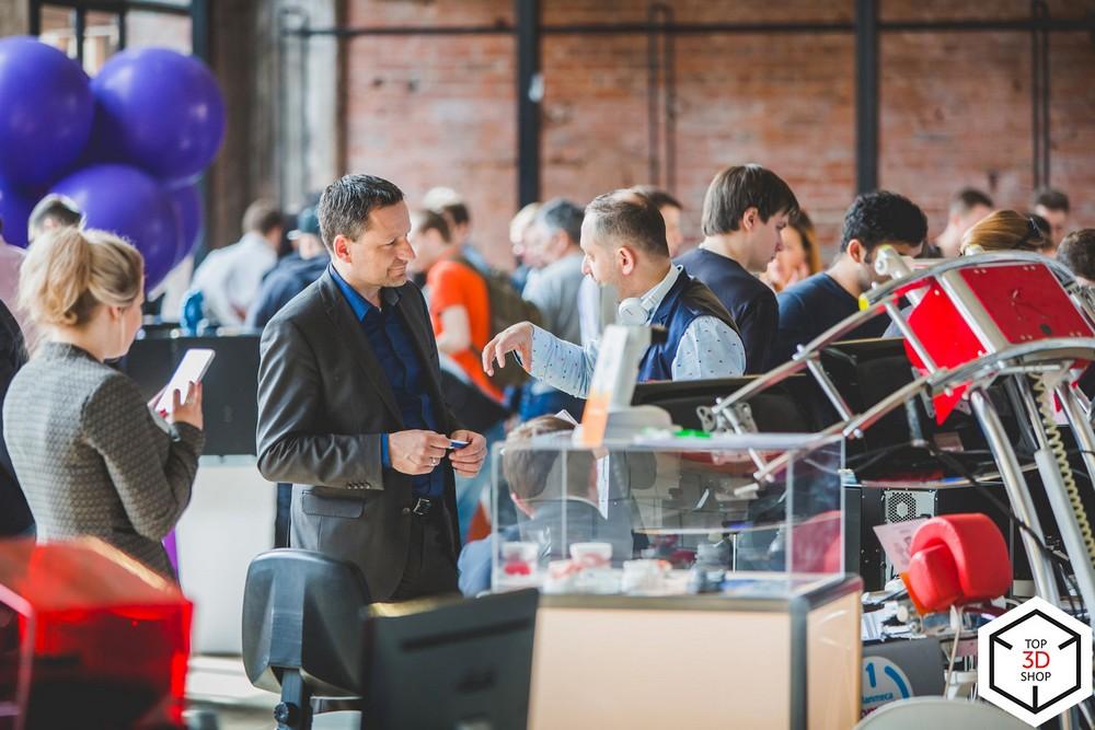 Конференция по цифровому производству Top 3D Expo — 10 апреля - 26