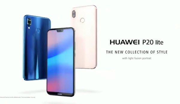Рекламный ролик смартфона Huawei P20 Lite утек в Сеть до анонса