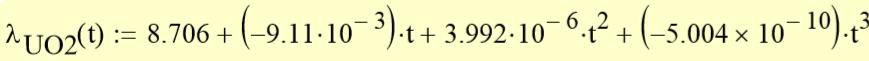 Математическая модель тепловыделяющего элемента ядерного реактора - 12