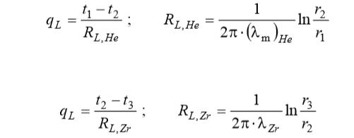 Математическая модель тепловыделяющего элемента ядерного реактора - 17