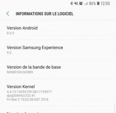 Смартфон Samsung Galaxy Note8 получил обновление до Android Oreo раньше времени