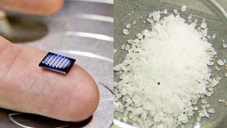 IBM создала нано-компьютер в виде микросхемы габаритами 1 х 1 мм - 1