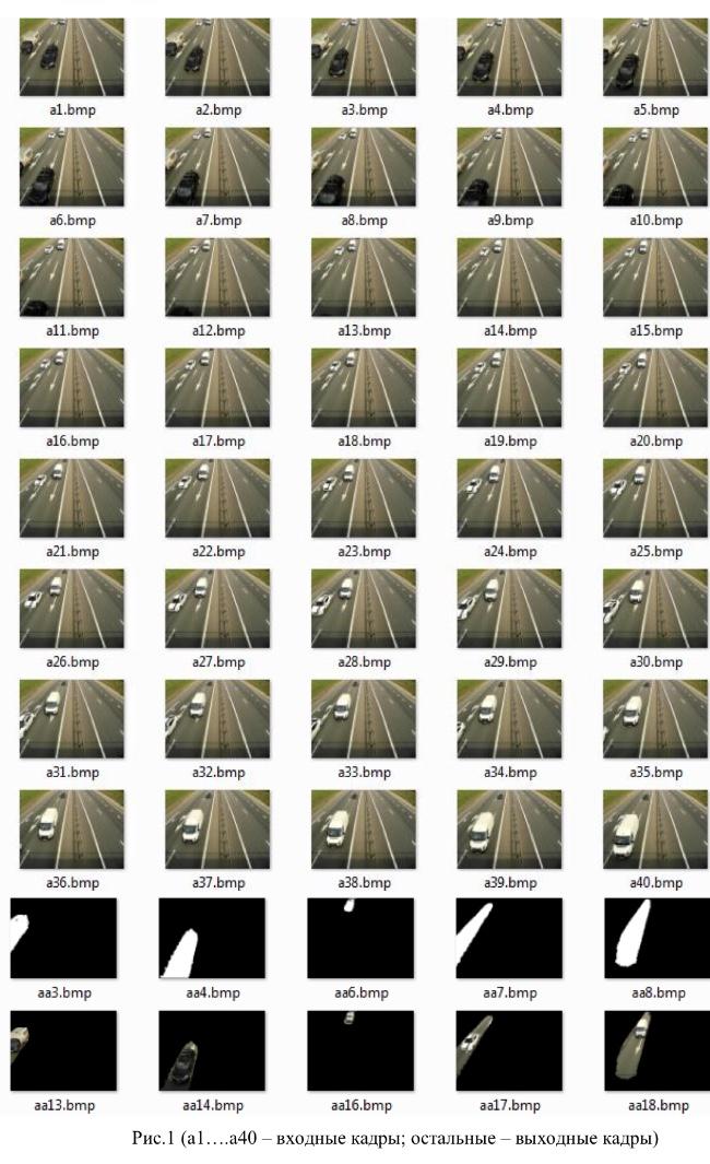 Достаточно простой и эффективный алгоритм распознавания и сопровождения движения - 1