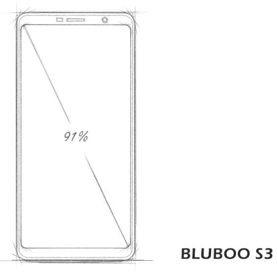 Емкость аккумулятора Bluboo S3 составляет 8500 мА•ч при толщине корпуса 11,2 мм