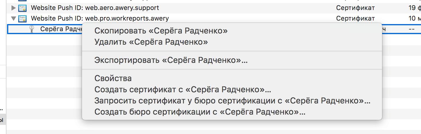 Как сделать Push уведомления в браузере Safari на macOS - 15