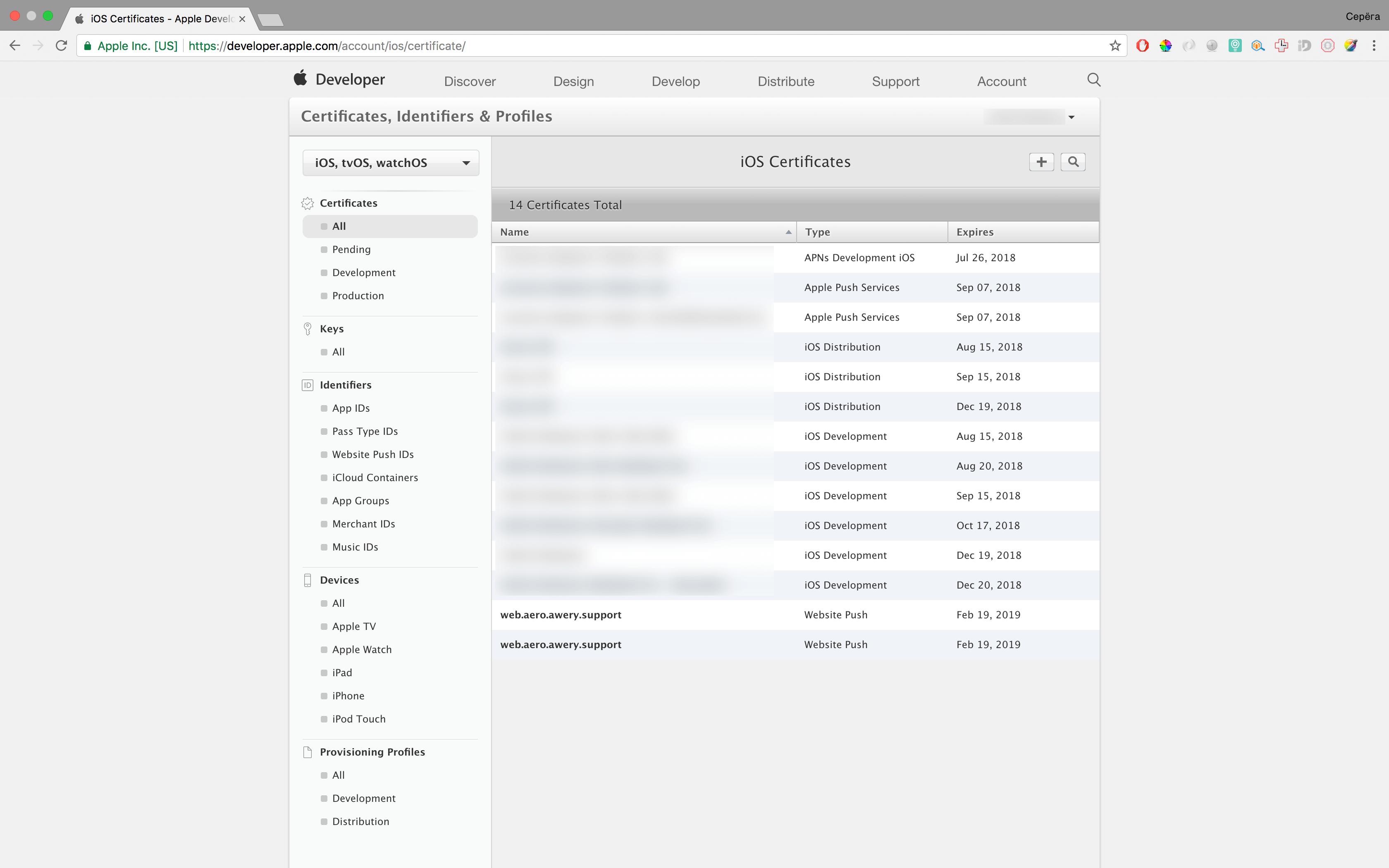 Как сделать Push уведомления в браузере Safari на macOS - 9