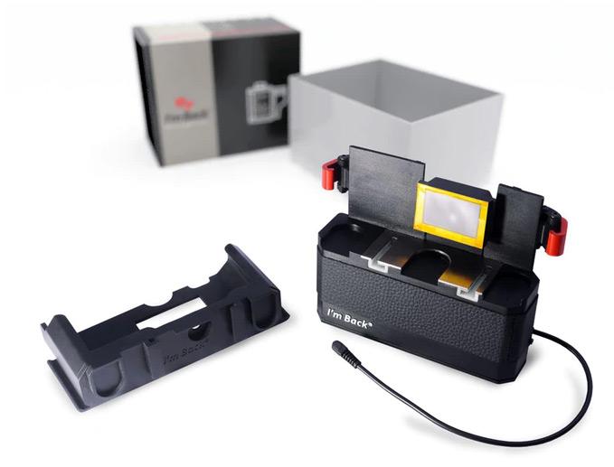 I'm Back — цифровой задник для 35-миллиметровых пленочных фотокамер