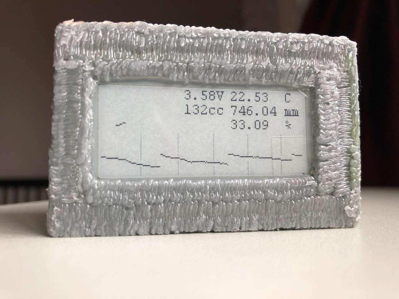 Глупый метеокороб на E-Ink - 1