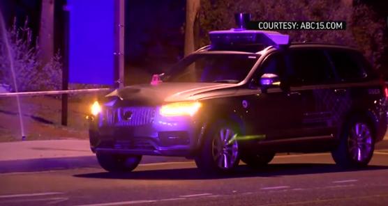 Предварительные данные указывают на то, что вины беспилотного авто Uber в смертельном ДТП не было - 1