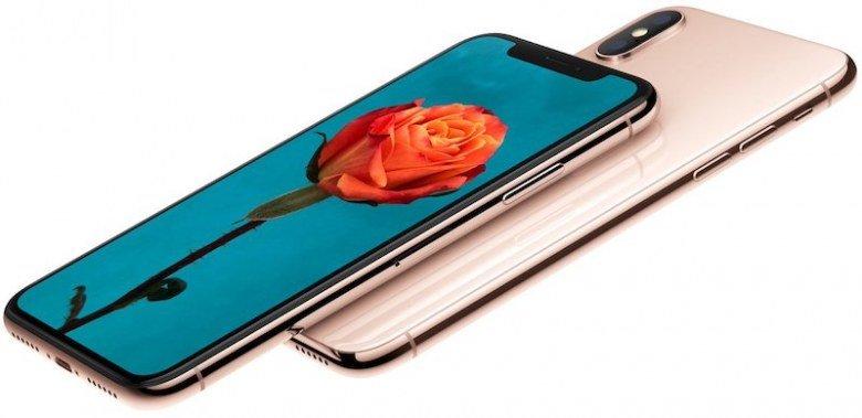 Смартфон iPhone X в цвете Blush Gold запущен в производство