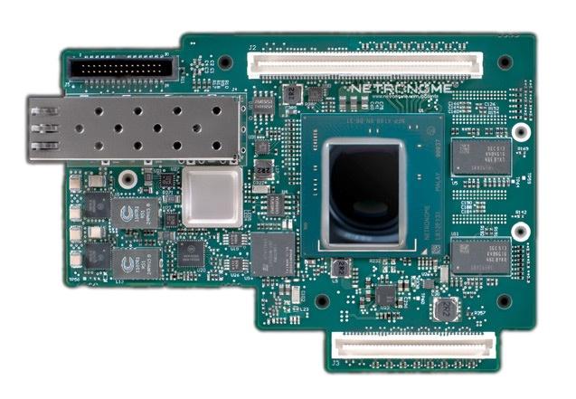 Адаптер в виде мезонинной карты расширения соответствует спецификациям OCP v2.0