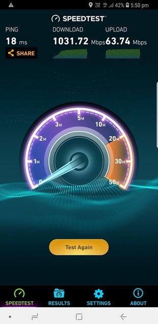 Рекордное значение получено в сети 4GX австралийского оператора Telstra