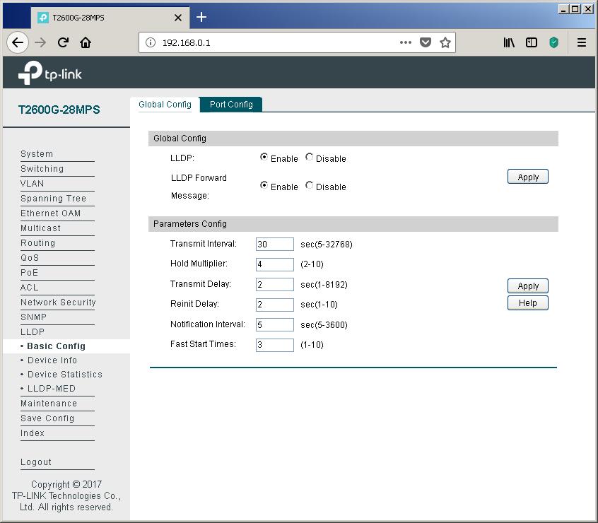 TP-Link T2600G-28MPS: работа с PoE, LLDP и Voice VLAN - 7