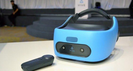 Гарнитура виртуальной реальности HTC Vive Focus будет выпущена на мировом рынке