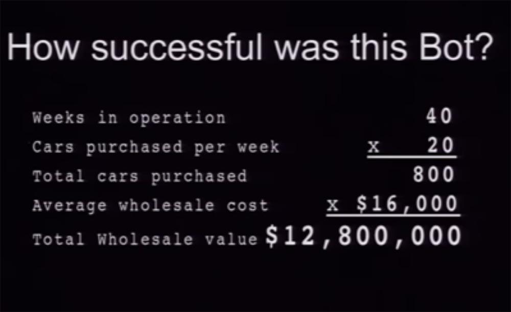 Конференция DEFCON 21. «Как мой Ботнет заработал миллионы долларов на продаже автомобилей и победил русских хакеров» - 19
