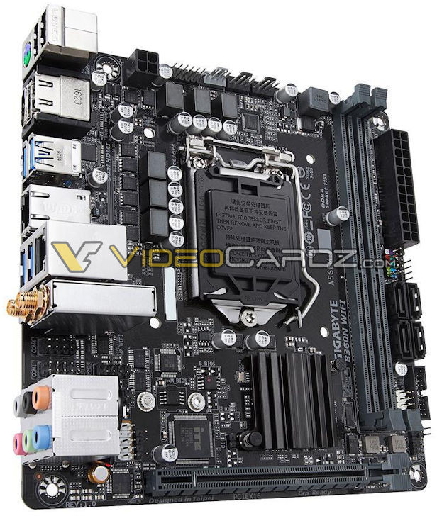 Основой системных плат Gigabyte B360N WiFi и B360M DS3H служит чипсет Intel B360